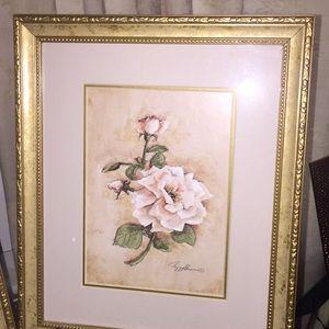 Gold Frame Prints